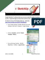 Modul Google SketcUp