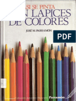 Asi Se Pinta Con Lapices de Colores
