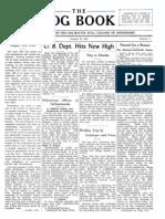 DMSCO Log Book Vol.19 1941