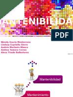MANTENIBILIDAD Y MANTENIMIENTO
