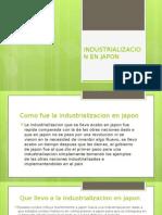 Industrializacion en Japon