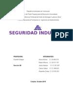 Trabajo de Seguridad Industrial
