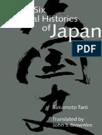 Sakamoto, Taro - Six National HistoryJapan