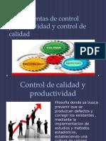 Herramientas de Contro Productividad y Control de Calidad