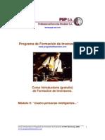 Programa de Formación de Inversores (PFI).-Modulo.-2