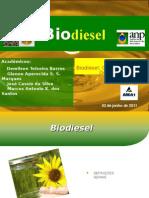 Apresentação Biodiesel METODOLOGIA