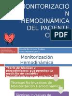 Monitorización Hemodinámica Del Paciente Crítico FINAL
