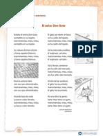 Poema Señor Don Gato