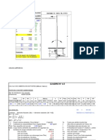 Cálculo de Cimentación de Postes B.T.