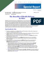 How Health Care Reform Will Benefit Ohio