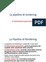 Pipeline Di Rendering