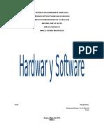 Trabajo Sobre El Hardware y Software