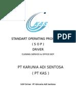 Standart Operating Procedure s o p Drive