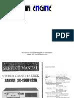 Hfe Sansui Sc-1300 1330 Service