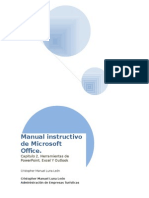 Manual Instructivo de Microsoft Office II Excel Etc.