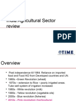 Agriculture Sector Analysis 300113