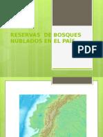 Reservas de Bosques Nublados en Ecuador