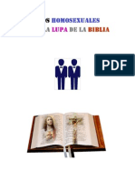 Los Homosexuales Bajo La Lupa de La Biblia