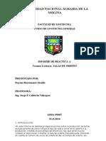 Salas de Ordeño Informe