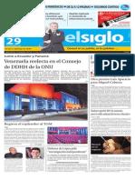 Edicion Impresa El Siglo 29-10-2015