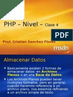 PHP n1 -Clase5 Almacenar Texto