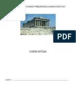 Cuaderno Grecia y Roma