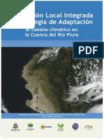 Evaluación Local Integrada y Estrategia de Adaptación Al Cambio Climático en La Cuenca Del Río Pi