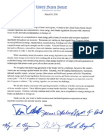 Climate Letter Udall