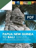 Papua New Guinea to Bali