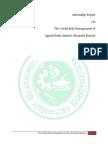Internship Report, Borhan Uddin, Adust