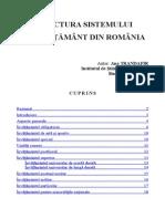 Structura Sistemului de Invatamant Din Romania