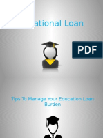 Educational loan