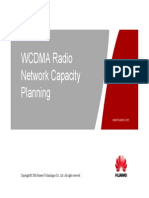 03 OWJ100102 WCDMA Radio Network Capacity Planning (With Comment) ISSUE 1