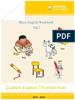 Set 3 - English Workbook - Class 2