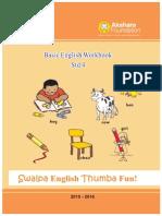 Set 3 -  English Workbook - Class 4