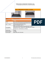 Industrial 3.75G HSPA+ 4 Lan Router - CM520-82H