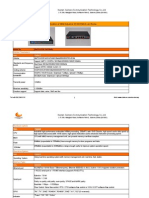 Industrial 3G WCDMA 4 Lan Router - CM520-82W