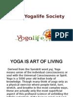 YOGA IS ART OF LIVING