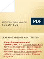 LMS AND CMS