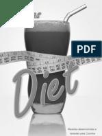 Livro de Receitas Manual Diet