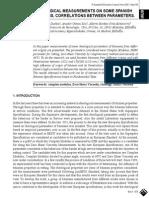 RHEOLOGICAL MEASUREMENTS ON SOME SPANISH BITUMENS. CORRELATIONS BETWEEN PARAMETERS