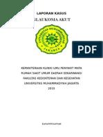 Lapkas glaukoma
