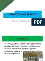 operacion de servicio