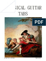 Classical Guitar Tabs