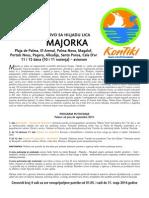 Majorka 2014. Cenovnik Br. 1