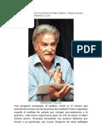 Sobre El Trabajo Clinico Liberador Del Psicoanalista de Fernando Ulloa