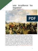¿Realmente Invadieron Los Árabes Hispania
