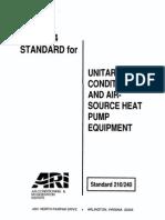 ARI 210.240-94