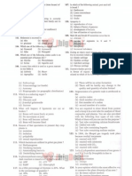 AMU Sample Paper-13 (MBBS-Biology Solved Paper 2007)