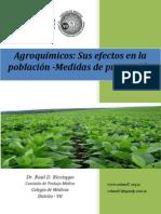AGROQUIMICOS. Sus efectos en la población - Medidas de Prevención